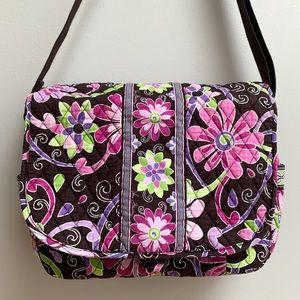 Vera Bradley Purple Punch Messenger Bag